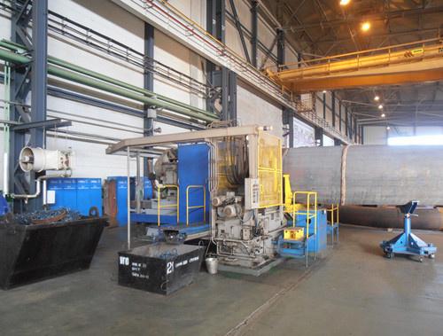 Торцефасочный станок для обработки отводов трубопроводов