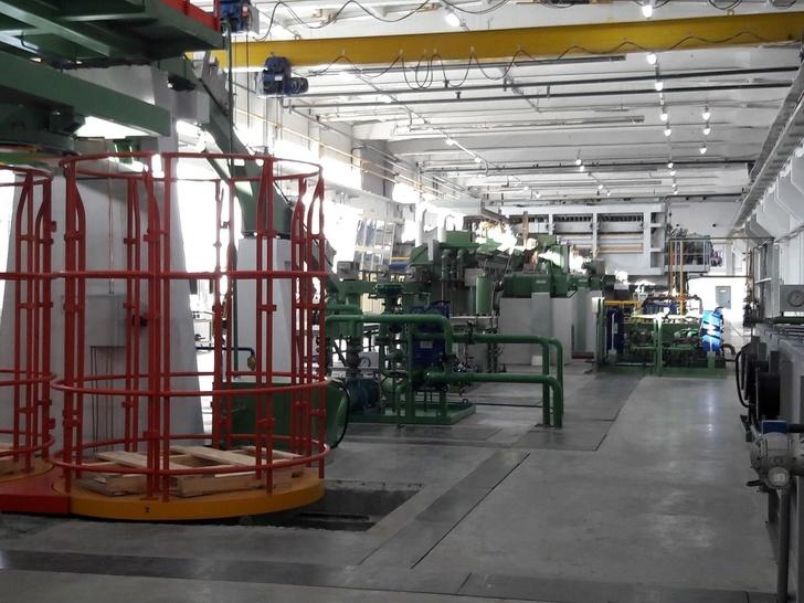 Завод по производству медной катанки запущен в Самарской области
