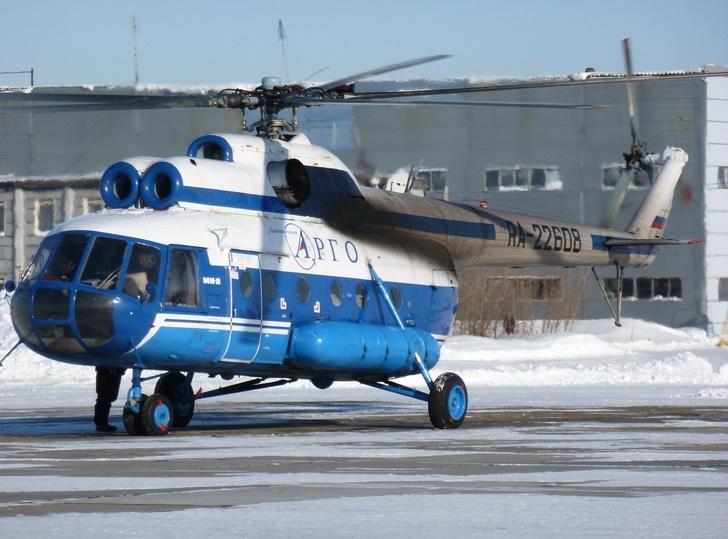 "Вертолет Ми-8 авиакомпании ""АРГО"""