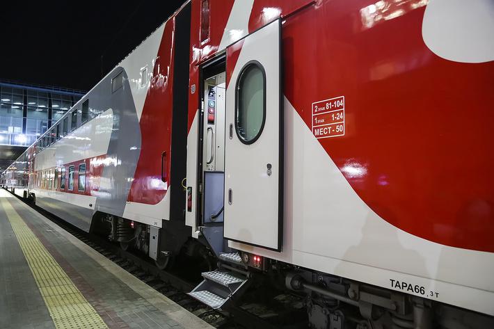 Двухэтажный поезд начал ездить по маршруту «Ростов-Адлер»