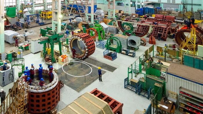 Одна из производственных площадок концерна РУСЭЛПРОМ – Ленинградский электромашиностроительный завод (ЛЭЗ)