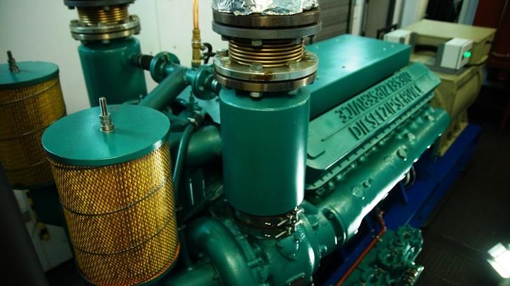 Дизельный двигатель серии ТМ-600 в составе электроагрегата АТМ-630