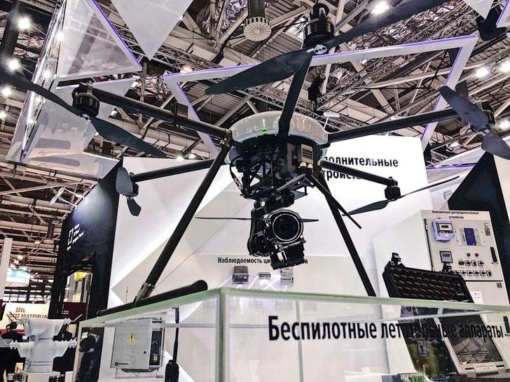 Ростех представил беспилотник для мониторинга электрических сетей