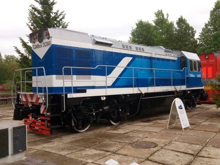 ЛТЗ передал первый из тепловоз серии ТГМ8КМ для кубинских железных дорог