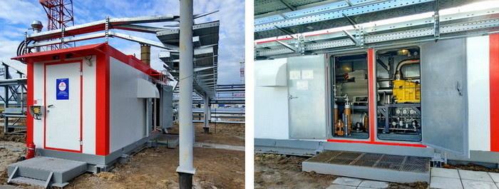 Модернизированная пусковая компрессорная установка для Восточно-Перевальной ГТЭС