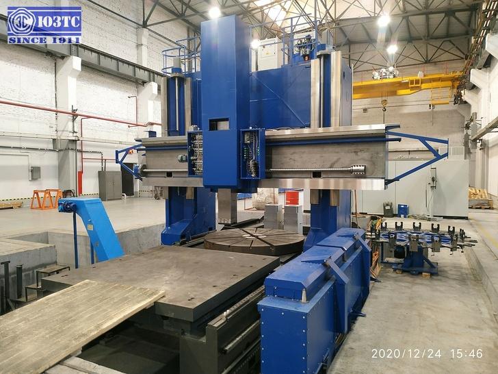 Обрабатывающий центр VC 32/28 Gantry Machine производства ЮЗТС (Краснодар, Россия)