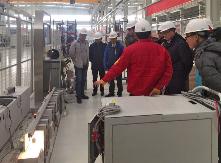 Специалисты компании Zibo тестируют БАВР на базе вакуумных выключателей ВВ/TEL