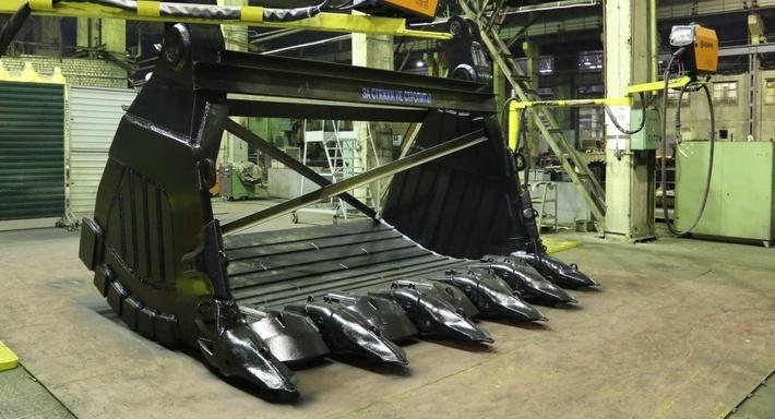 КРАНЭКС расширяет производство карьерных ковшей