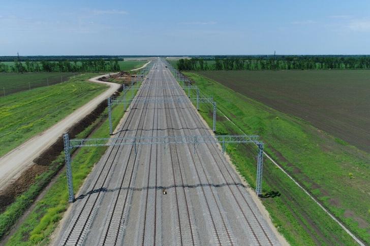 ОАО «РЖД» продолжает укладку вторых путей на дальних подходах к портам Юга