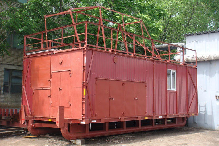 Технологическое укрытие для ZBO S15 (на санях ДТХЗ)