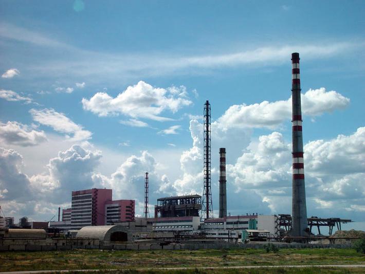 Гигант крымской химической промышленности - Крымский содовый завод