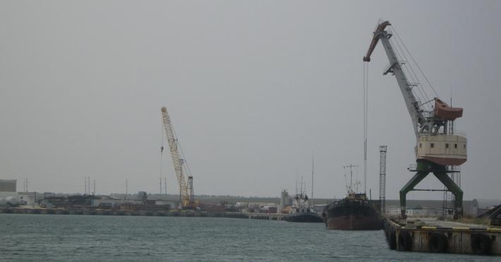 Северная часть порта «Черноморск»