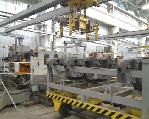 Цех механической обработки литья Бежицкого сталелитейного завода