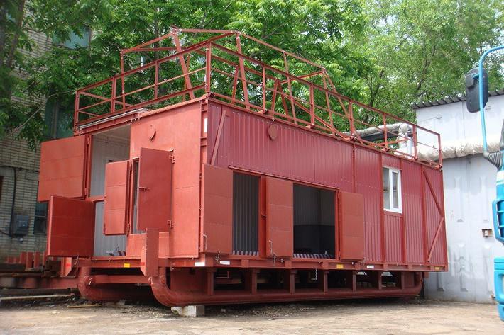 Буровое здание ДТХЗ для ZBO S15