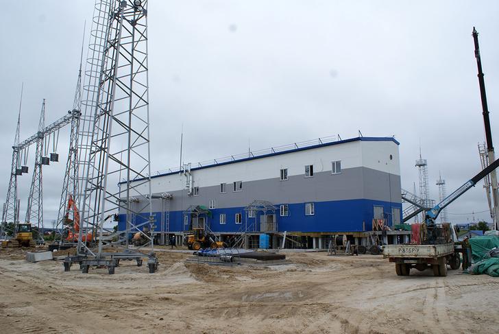 строительство переключательного пункта 220 кВ «Зея».