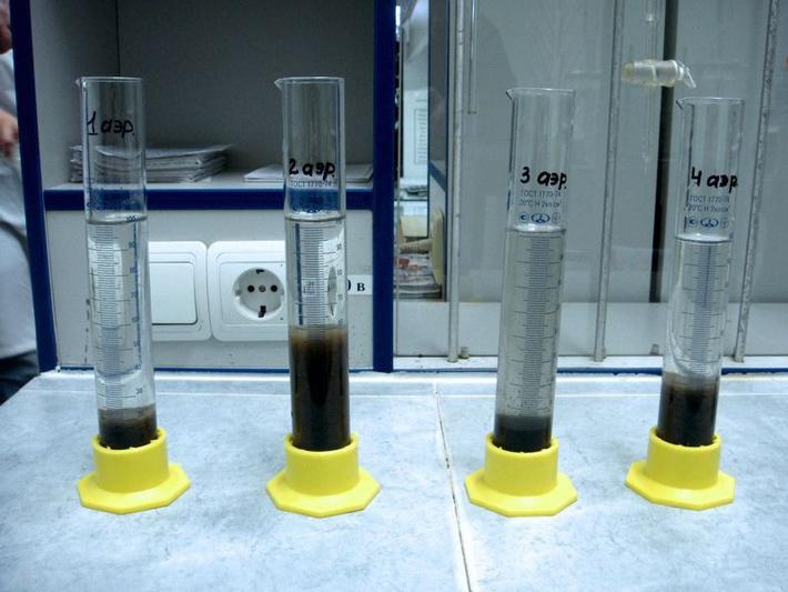 Технологическая наладка процесса биологической очистки