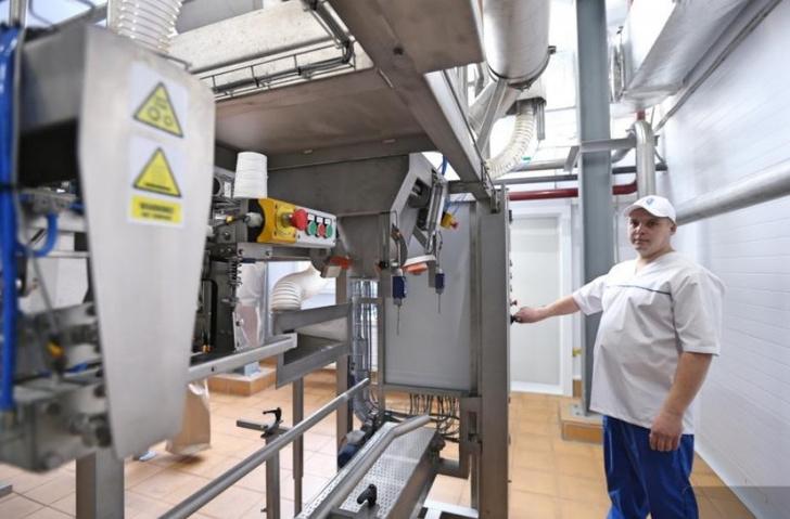 В Свердловской области Ирбитский молокозавод открыл цех по производству сухого молока