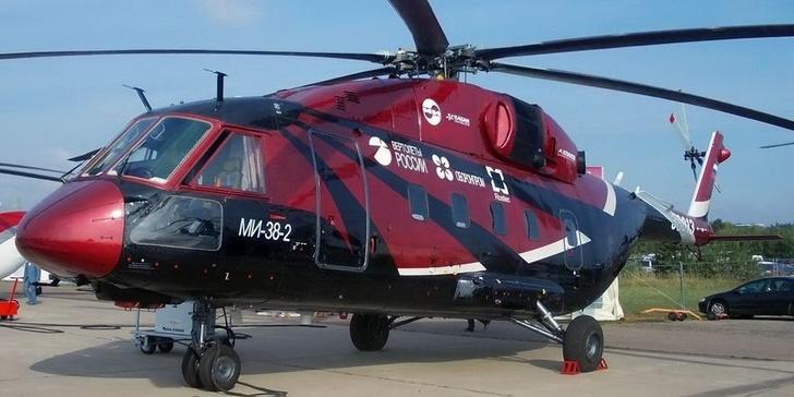 """""""Вертолеты России"""" получили сертификат на серийное производство Ми-38"""