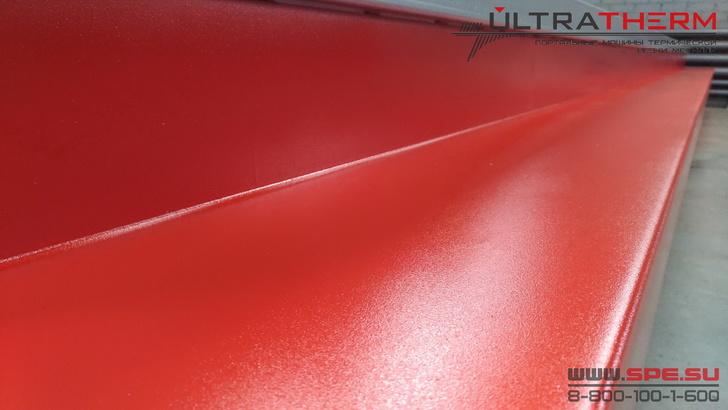 Качественное износостойкое полиуретановое покрытие рамы станка ULTRATHERM