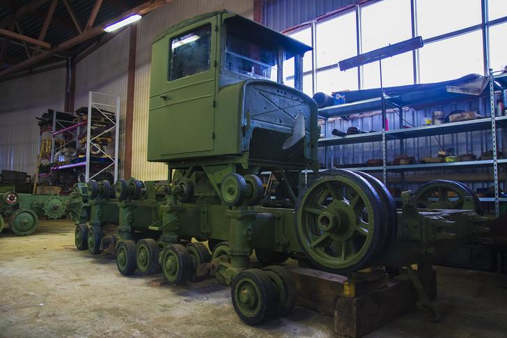 Единственный сохранившийся артиллерийский тягач «Коминтерн»