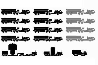 Базовый состав дивизиона ЗРС С-400
