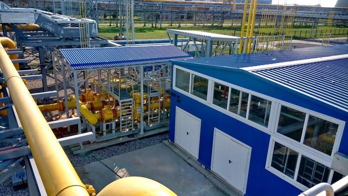 Многоблочный пункт подготовки газа