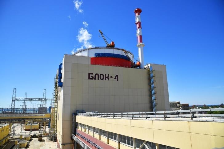 Энергоблок №4 Ростовской АЭС введен в промышленную эксплуатацию на три месяца раньше планового срока