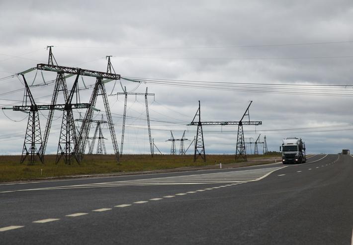 участок дороги подъезда к Ульяновску от трассы М-5 «Урал»