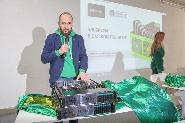 В ОмГТУ открылась первая за Уралом лаборатория с российским ИТ-оборудованием
