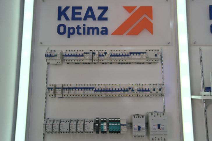 Модульное оборудование на DIN-рейку серии KEAZ Optima