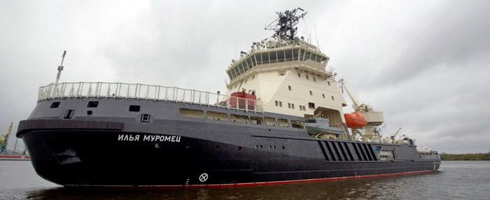 Дизель-электрический ледокол «Илья Муромец» оснащен системой электродвижения от концерна РУСЭЛПРОМ