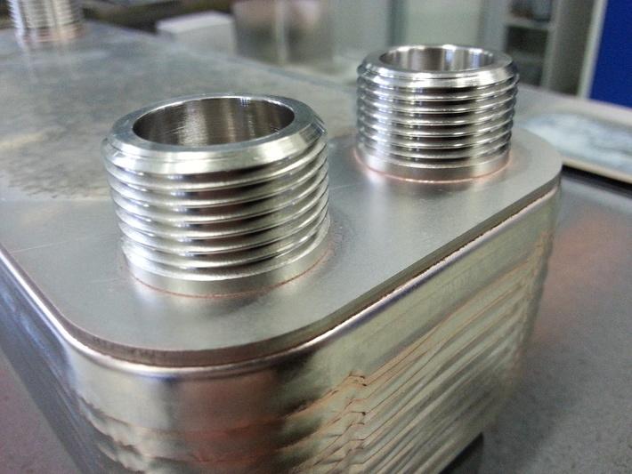 Компания данфосс изготавливает пластинчатые теплообменники, выполненные из нержавеющей стали