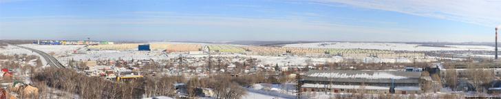 Панорама. Вид с Новой Самары