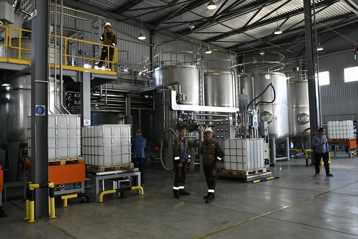 В Краснодаре запустили завод по производству строительной химии