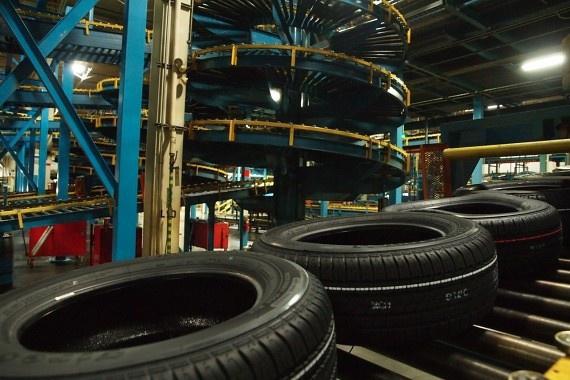 Завод «Бриджстоун» в Ульяновске запустил коммерческое производство шин