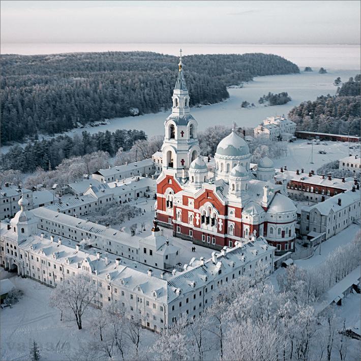 Валаамский ставропигиальный мужской монастырь.