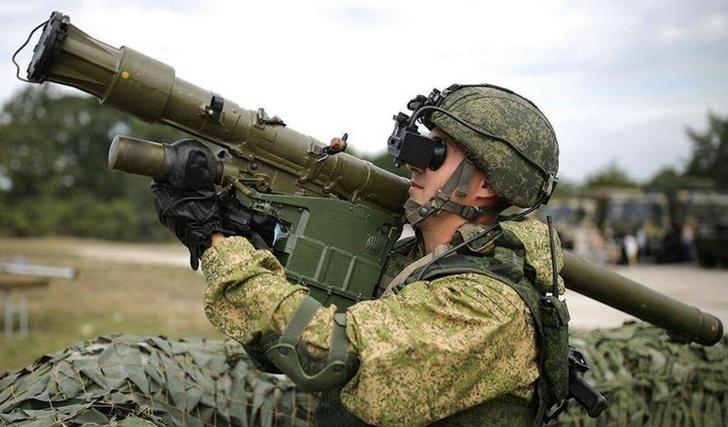 Зенитчики российской военной базы в Таджикистане получили на вооружение новейшие ПЗРК «Верба»