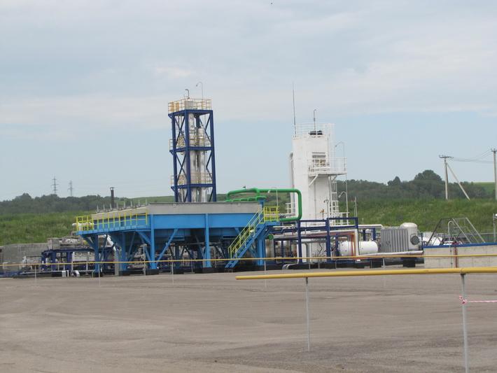 Завод по сжижению природного газа заработал в Новокузнецке