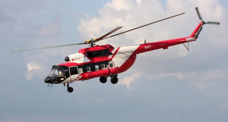 «Вертолеты России» передали МЧС один Ми-8МТВ-1