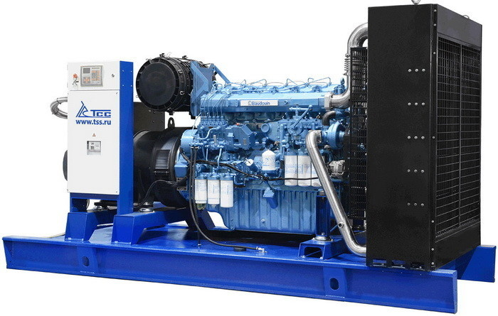Дизель-генераторная установка ТСС мощностью 500 кВт (серия TSS Premium)