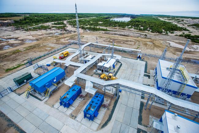 Береговой технологический комплекс Киринского месторождения