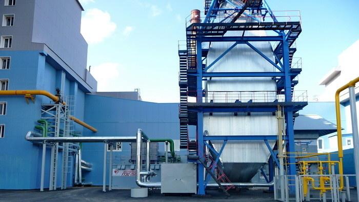 Газотурбинная электростанция ГТЭС-25П мощностью 22,5 МВт