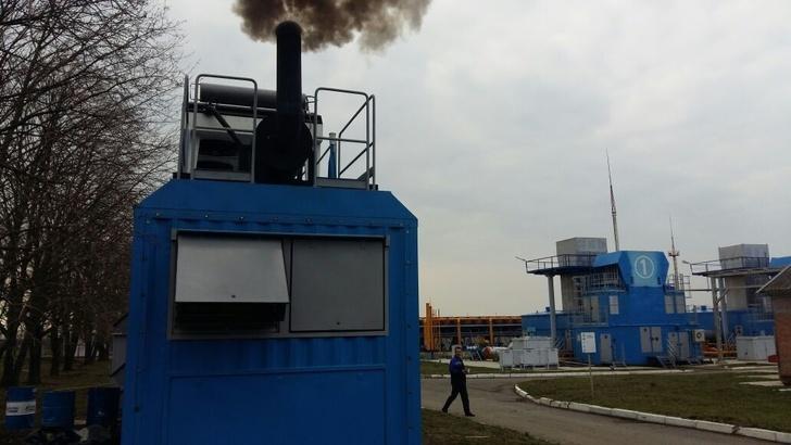 Пуск станции АБКЭхАТМ-630