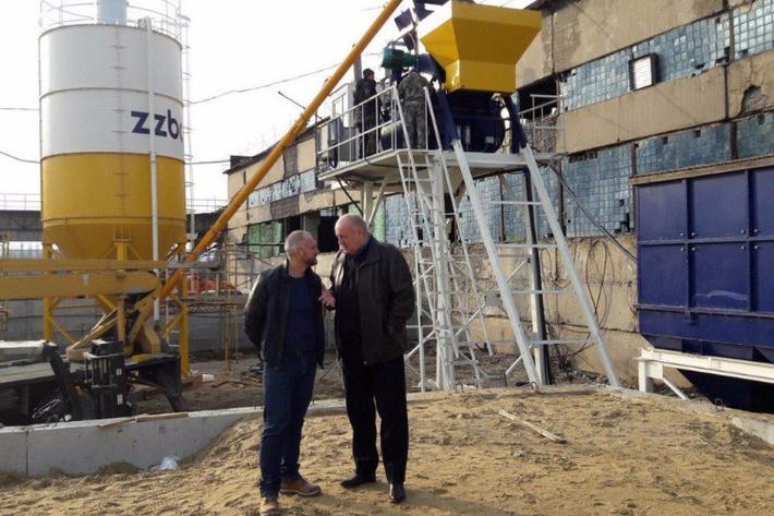 В Сасове испытали новый бетонный завод