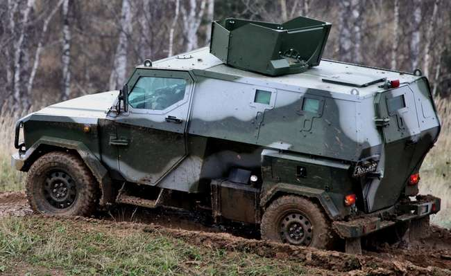 "Армейский бронеавтомобиль ""Скорпион-2Б"""