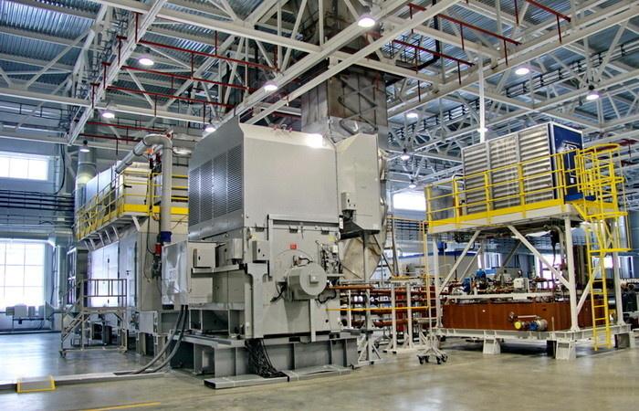 Испытания ГТА-16 мощностью 16 МВт