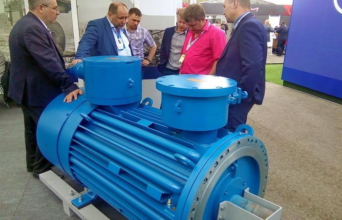 Новая электрическая машина на выставке «Уголь России и Майнинг-2019»