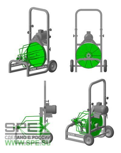 3D модель аппарата серии АМП-БЭ SPEX