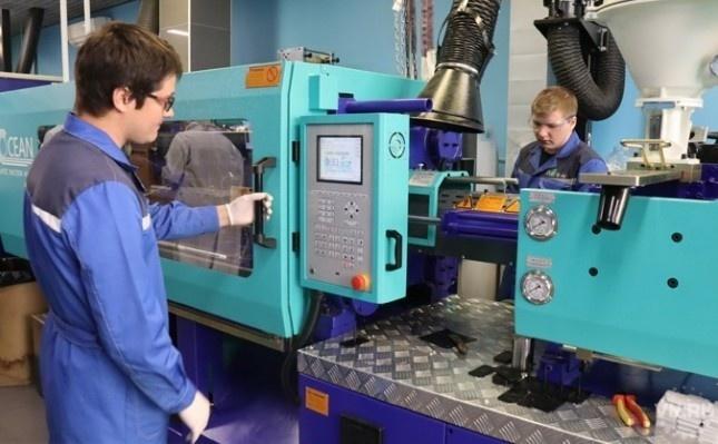 Установка позволяет производить 50 тонн материала в год