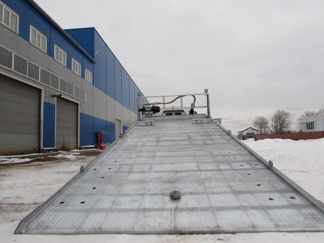 Оцинкованная платформа эвакуатора